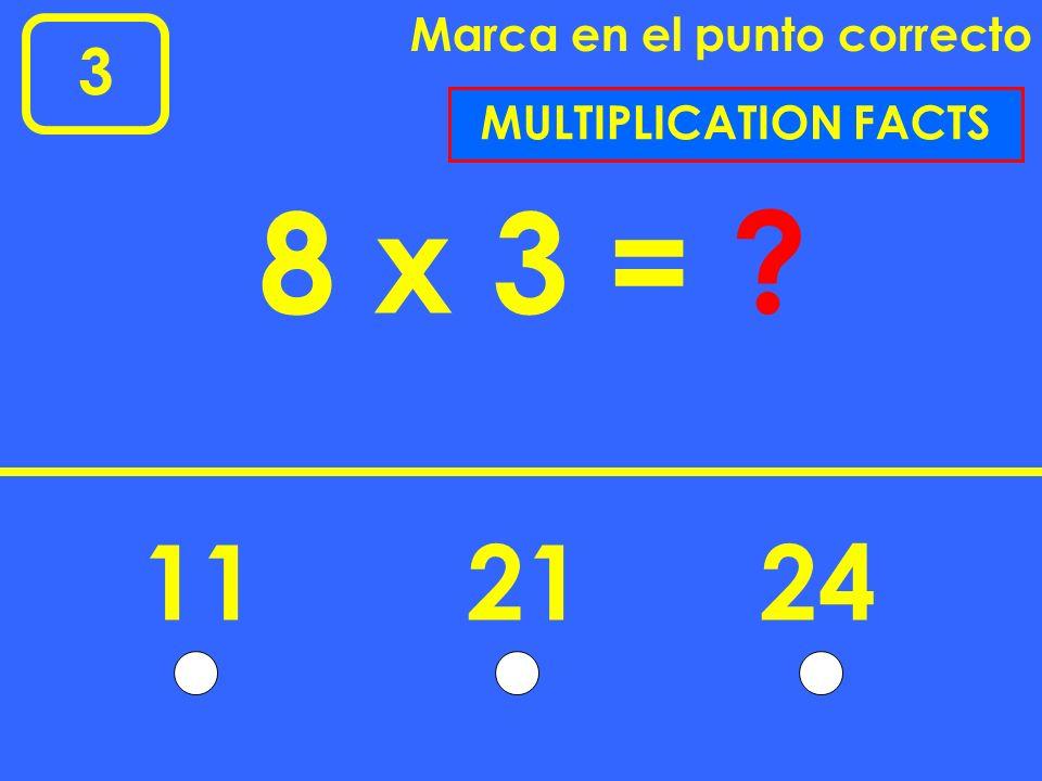 3 Marca en el punto correcto 57 48 - 65199 SUBTRACTION