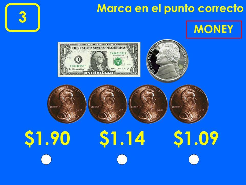 13 Marca en el punto correcto 17 COUNTING MONEY