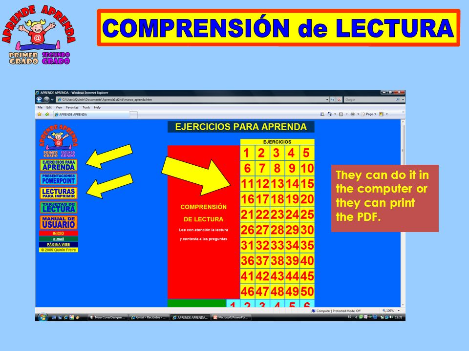 There are 34 different presentations.They are used to show all information to the students.