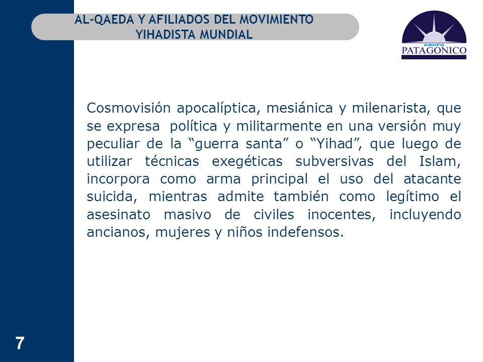 118 COMENTARIOS A LA DOCTRINA CONTRATERRORISTA DE LOS EE.UU.