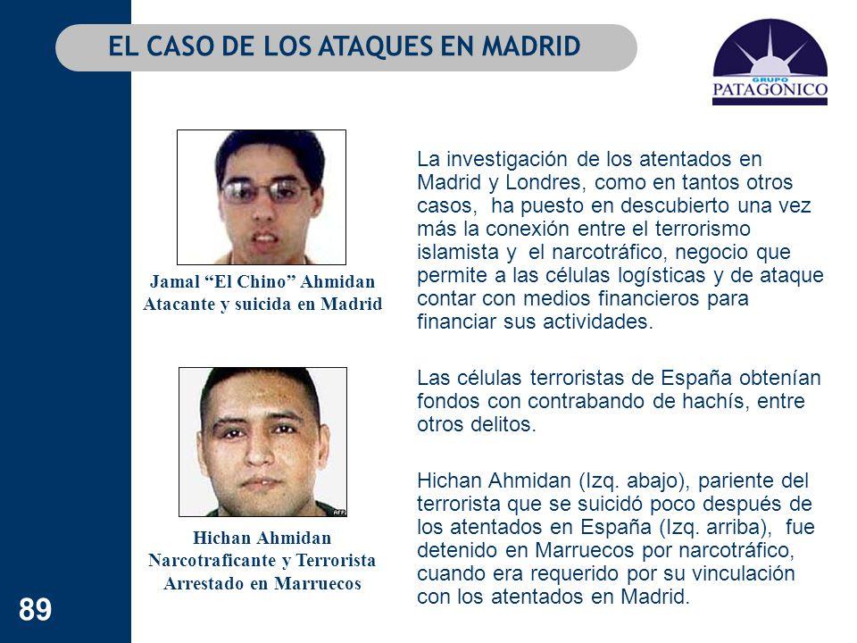 89 La investigación de los atentados en Madrid y Londres, como en tantos otros casos, ha puesto en descubierto una vez más la conexión entre el terror