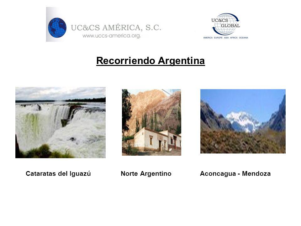Recorriendo Argentina Cataratas del Iguazú Norte Argentino Aconcagua - Mendoza