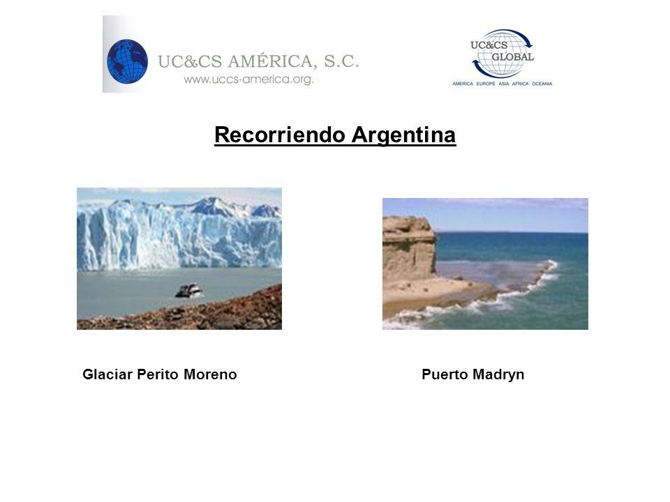 Recorriendo Argentina Glaciar Perito Moreno Puerto Madryn