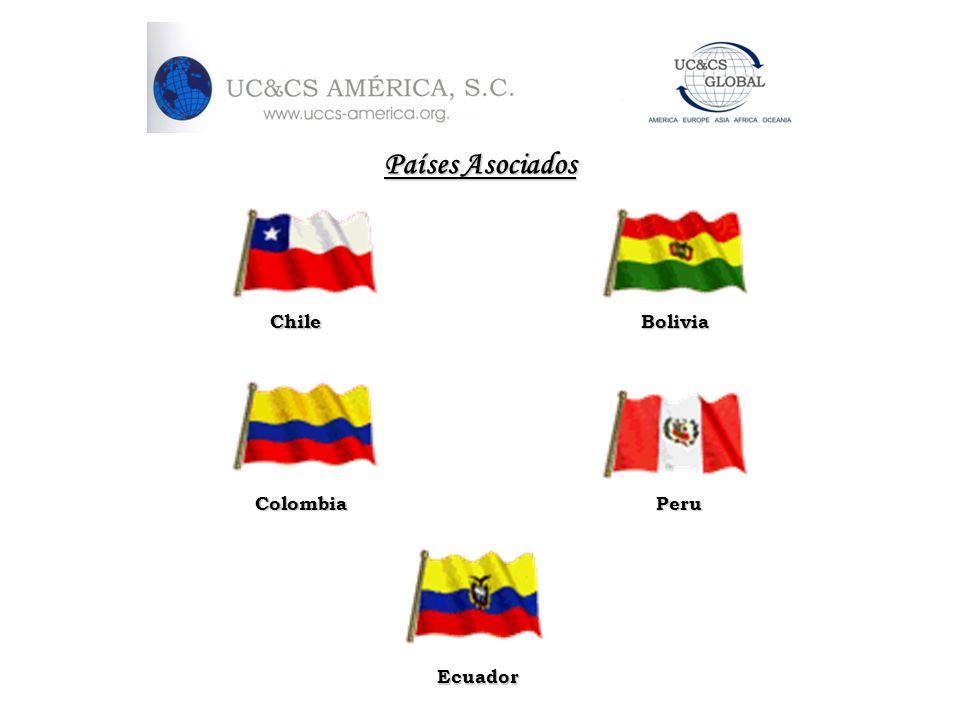 Países Asociados Colombia Ecuador ChileBolivia Peru