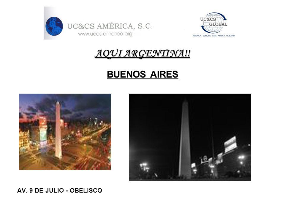AQUI ARGENTINA!! BUENOS AIRES Puerto Madero Barrio La Recoleta