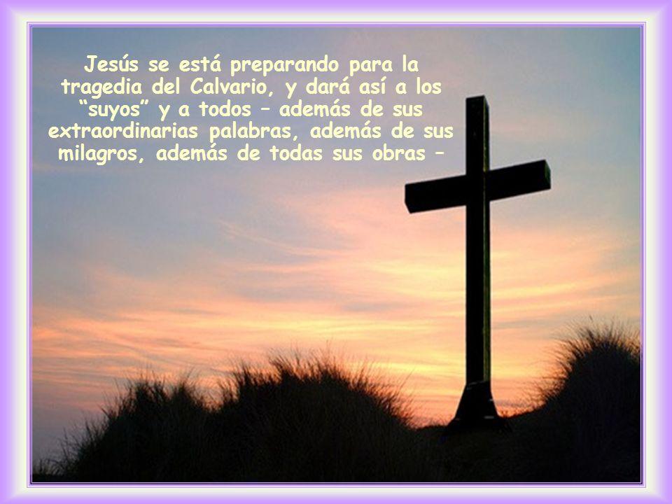 ¿No sientes en esta frase el estilo de vida del Cristo, su modo de amar.