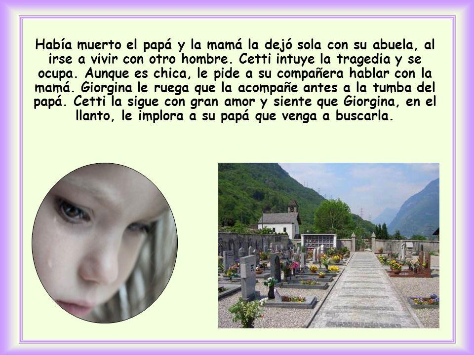 Así hizo la pequeña Cetti, de 11 años, de una ciudad italiana.