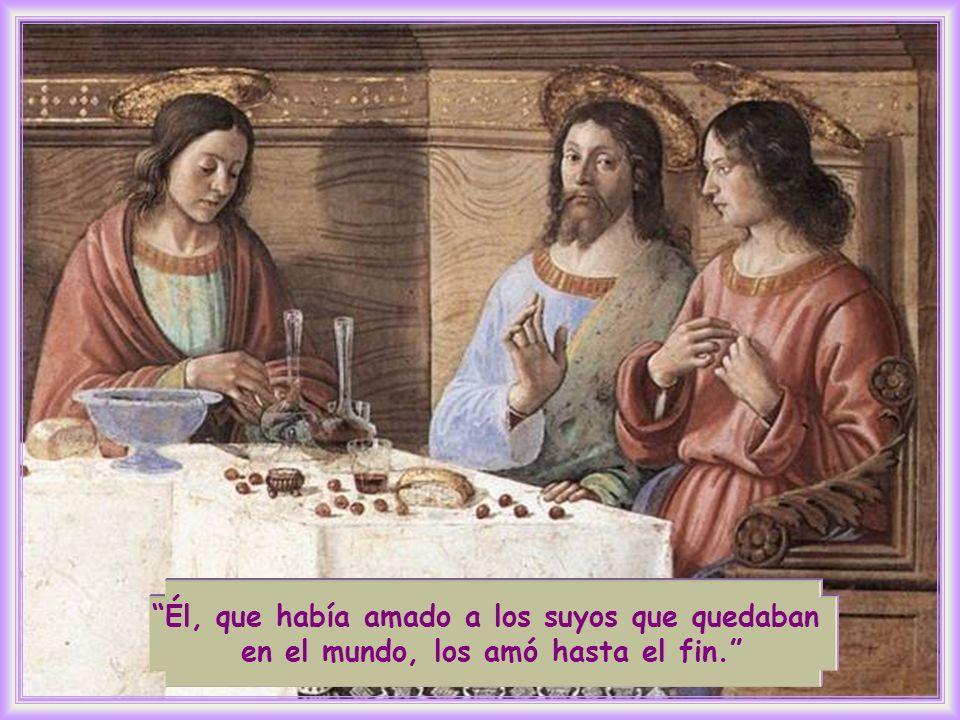 Los discípulos de Jesús permanecerán en el mundo mientras que Jesús ya estará en la gloria.