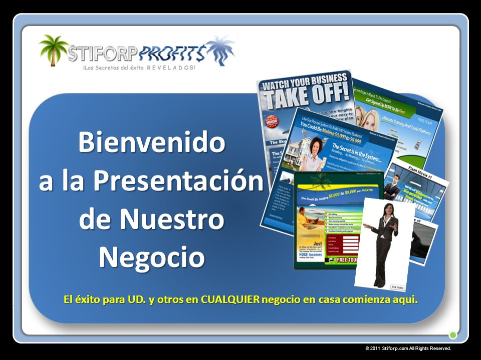 © 2011 Stiforp.com All Rights Reserved.$tiforp Camino a los Premios de Promoción.