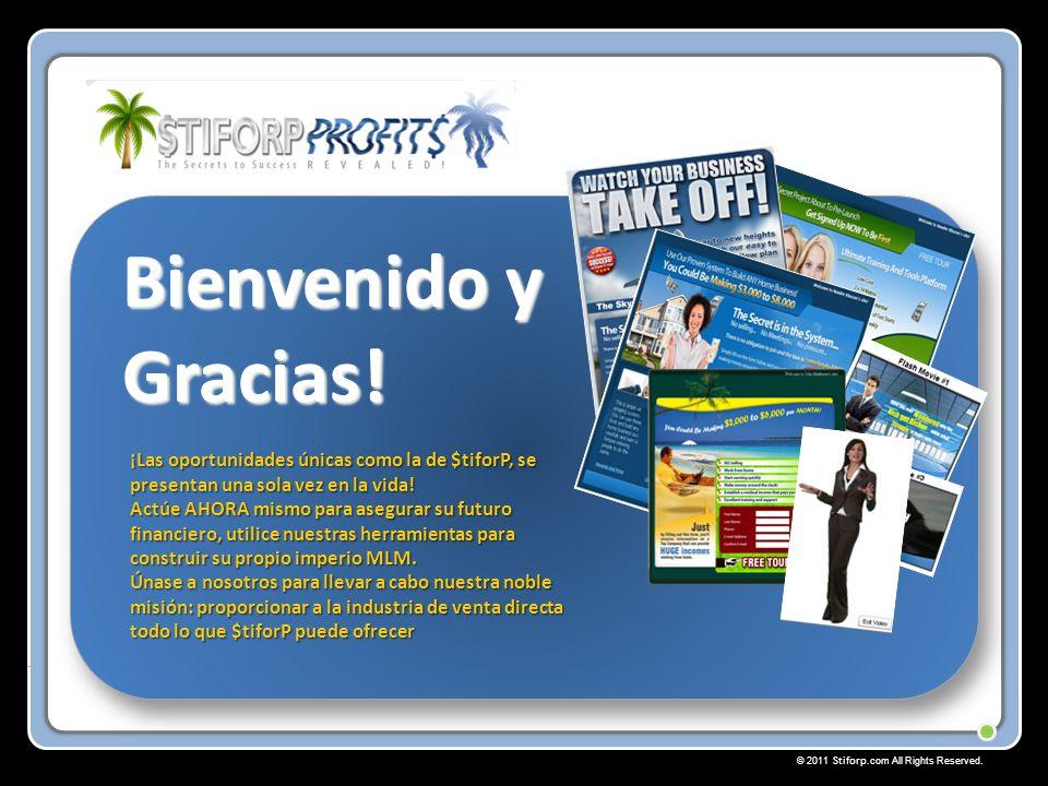 © 2011 Stiforp.com All Rights Reserved. Bienvenido y Gracias.