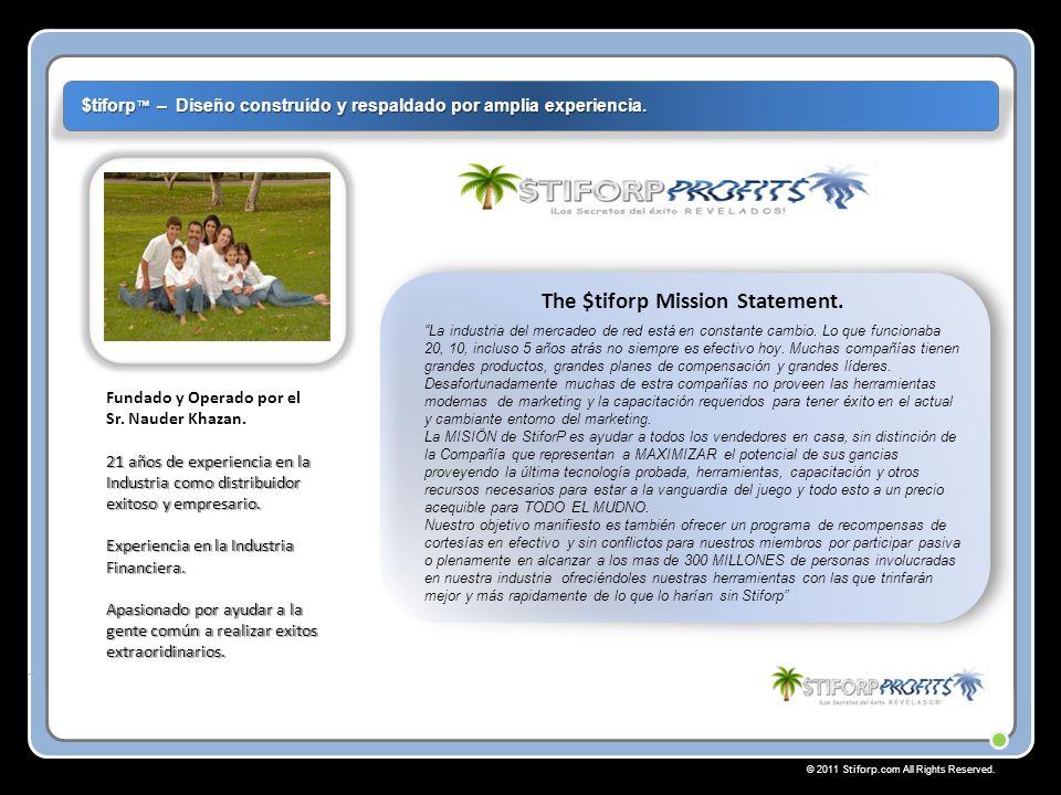 © 2011 Stiforp.com All Rights Reserved.Bienvenido y Gracias.