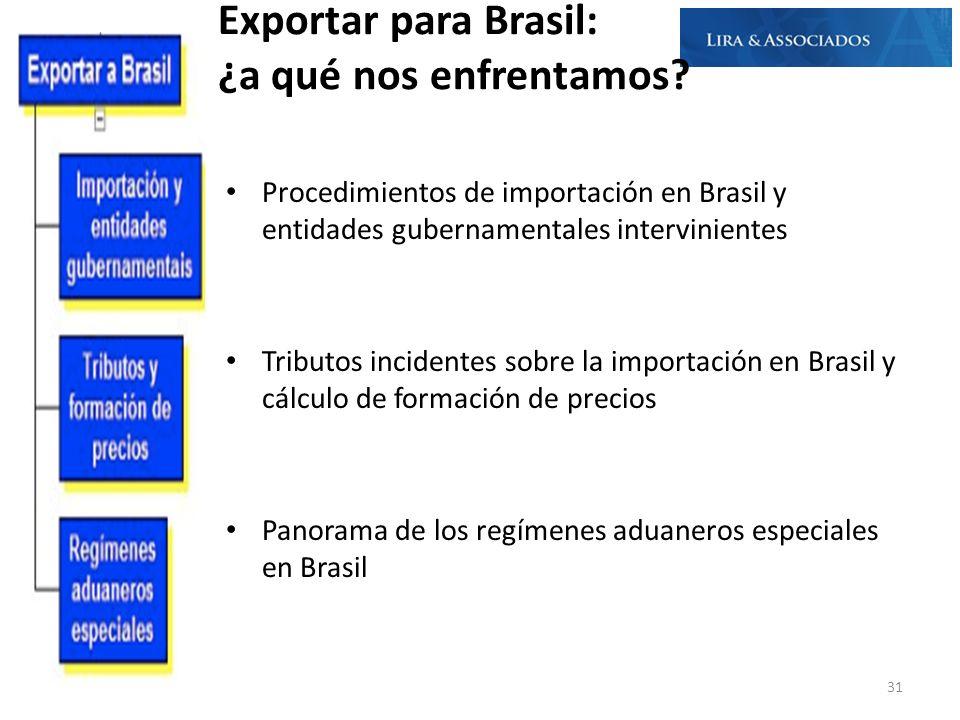 Exportar para Brasil: ¿a qué nos enfrentamos? Procedimientos de importación en Brasil y entidades gubernamentales intervinientes Tributos incidentes s