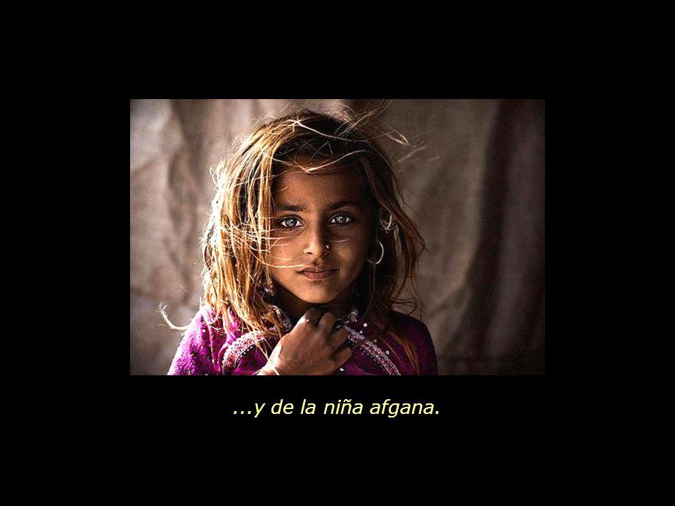 Otro mundo posible, donde sean respetados los derechos básicos de la niña africana, de la niña peruana...