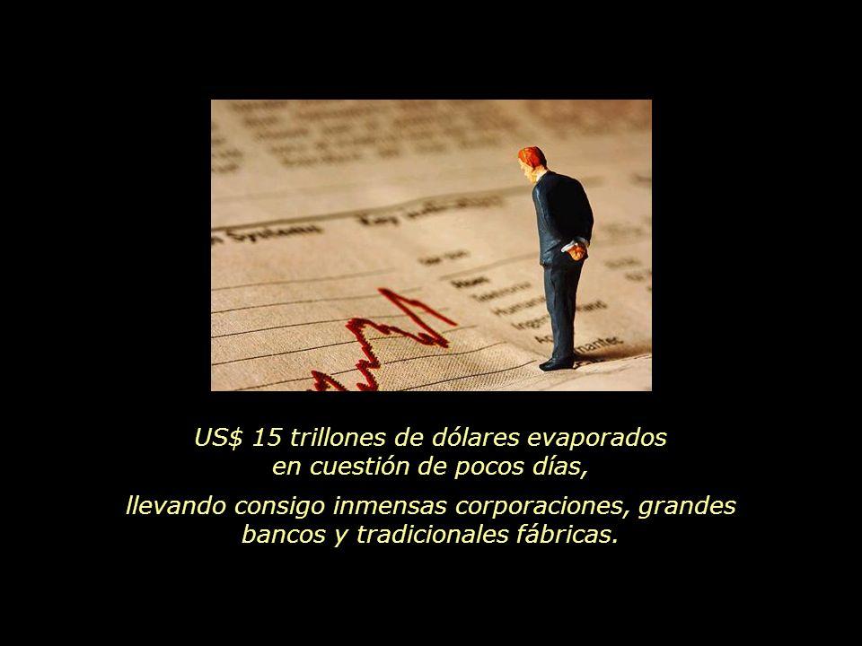E inició su exposición, Leonardo Boff, hablando sobre la crisis financiera que asola el mundo.