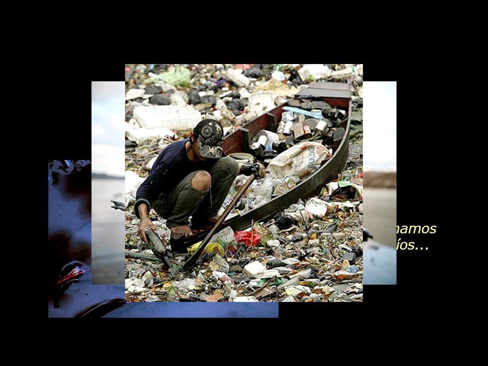 El consumo inconsecuente aumentó el desperdicio, la producción de basura y los impactos ambientales.