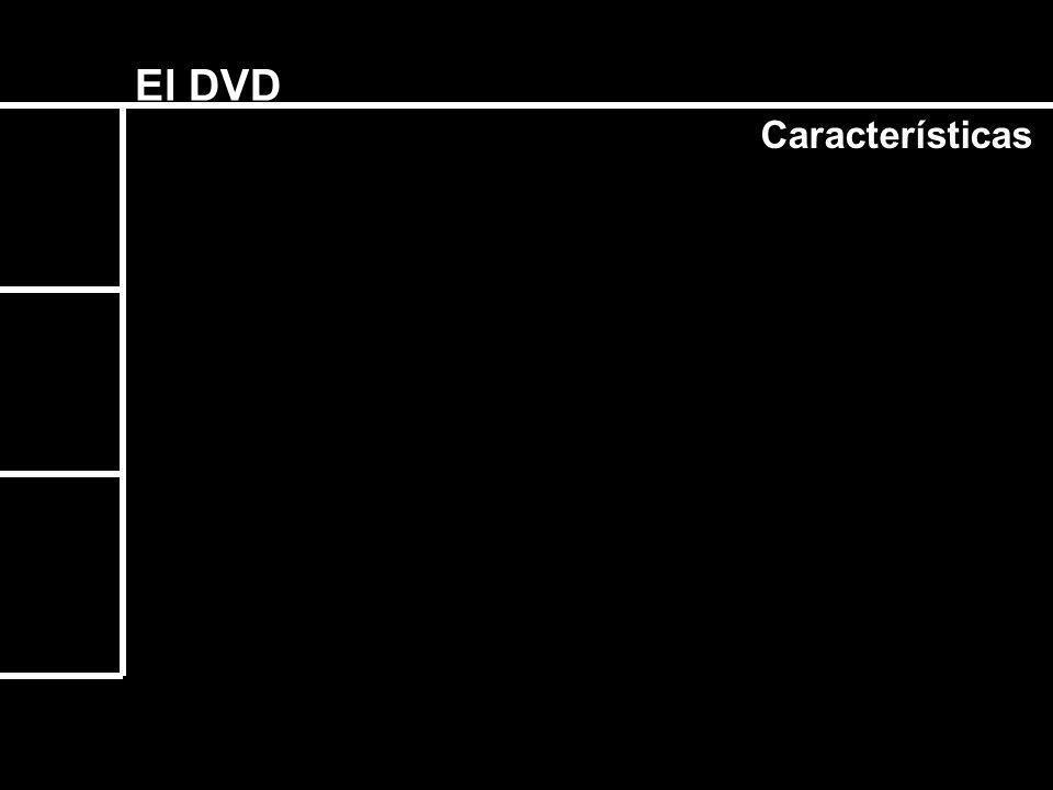 El Formato DVD - 5 1 Lado / 1 Capa 4.7 Gb / 135 min.