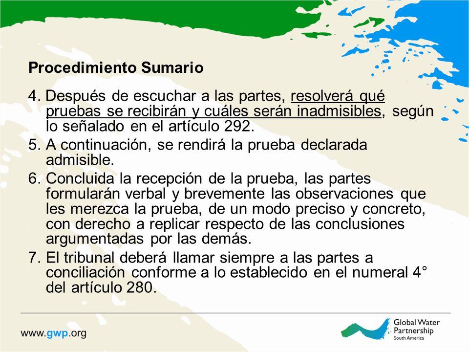 Procedimiento Sumario 4.