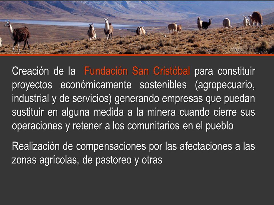 www.travellersbook.net www.taringa.net wikipedia.org upload.wikimedia.org Creación de la Fundación San Cristóbal para constituir proyectos económicame