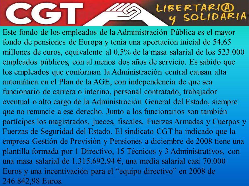 ¿Es legal la participación de CCOO y UGT en la designación de ellos mismos como gestores de los planes de pensiones.