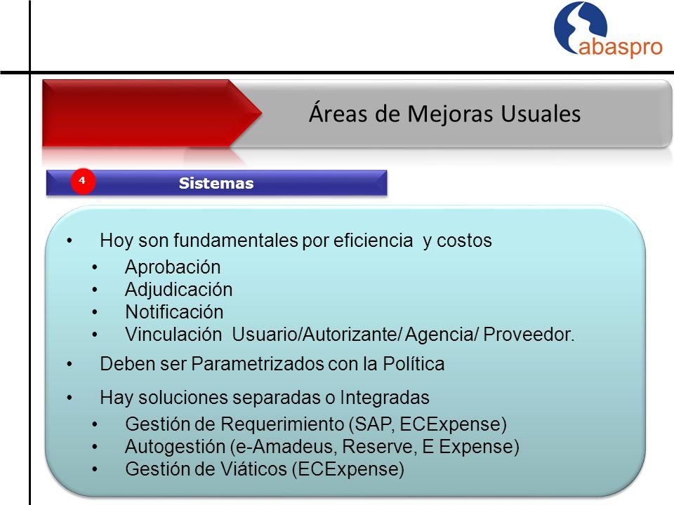 Sistemas 4 Hoy son fundamentales por eficiencia y costos Aprobación Adjudicación Notificación Vinculación Usuario/Autorizante/ Agencia/ Proveedor.