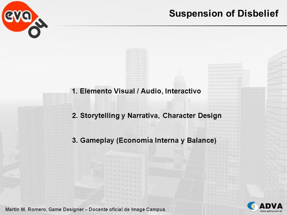 Martín M.Romero, Game Designer – Docente oficial de Image Campus 3.