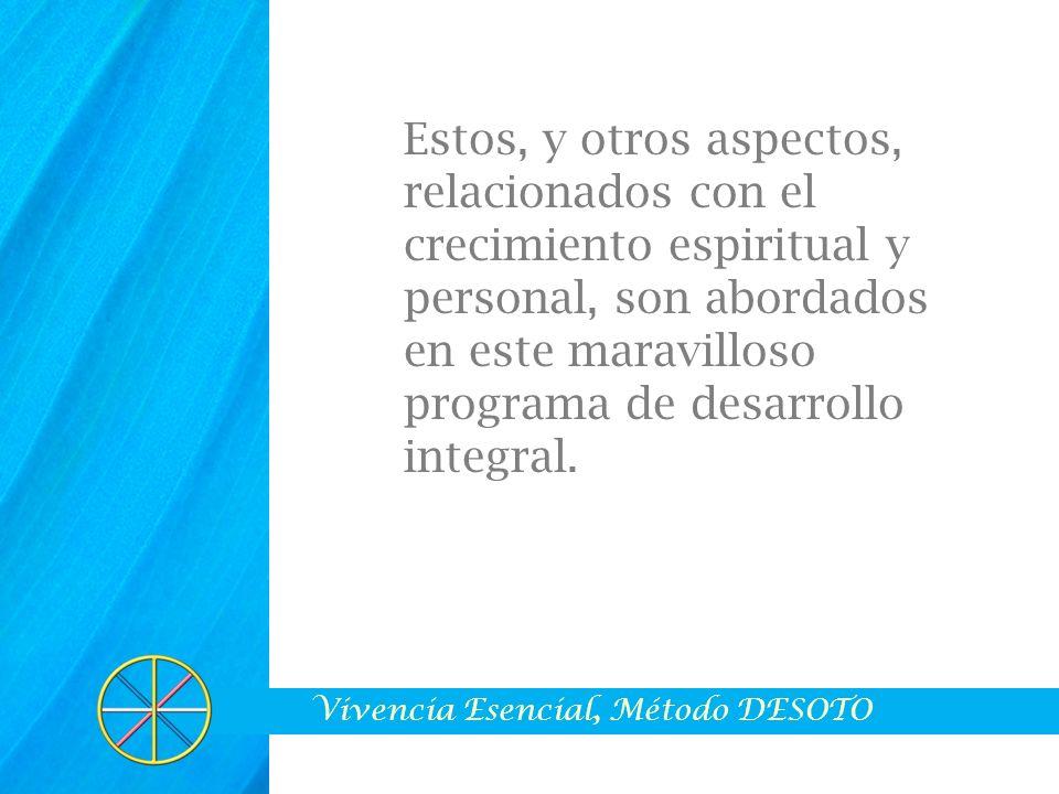 ÁREAS TEMÁTICAS I.LA EXCELENCIA PERSONAL.II. EL ALMA Y LAS LEYES UNIVERSALES.