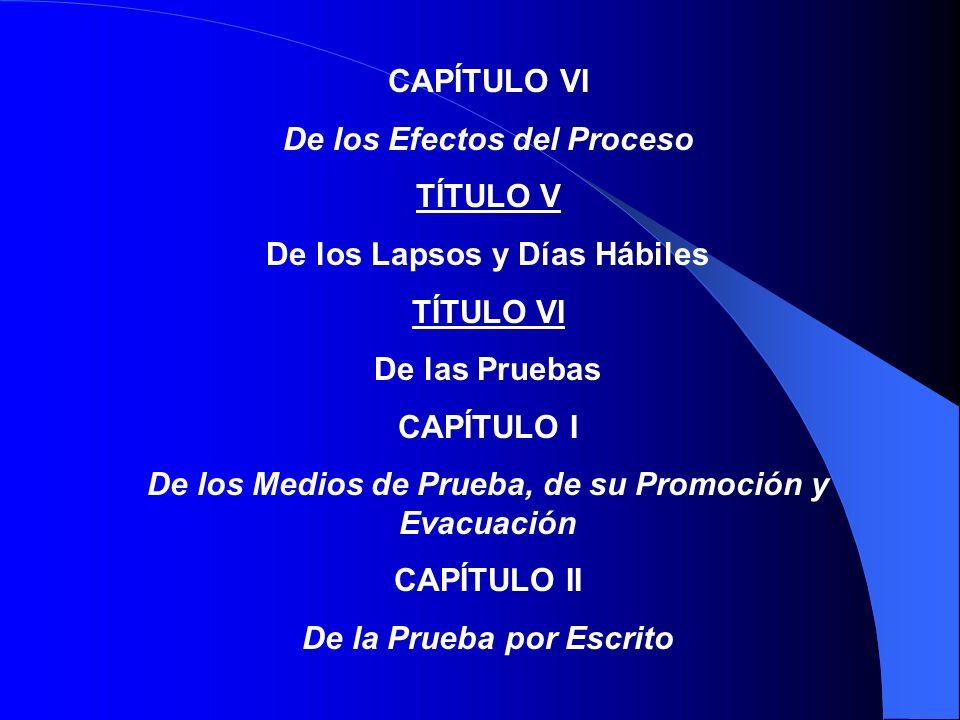 CAPÍTULO II De su Tramitación TÍTULO IV De las Partes CAPÍTULO I Generalidades CAPÍTULO II Litisconsorcio CAPÍTULO III Intervención de Terceros