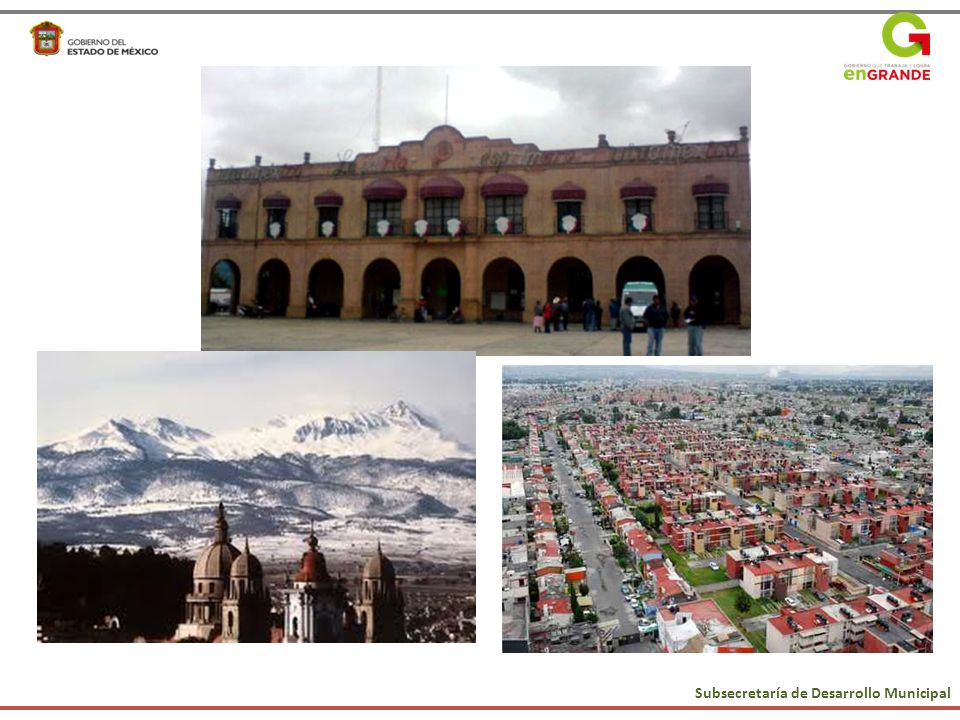 Subsecretaría de Desarrollo Municipal Municipio Sustentable Reforma Hacendaria Reforma Política Reforma Administrativa