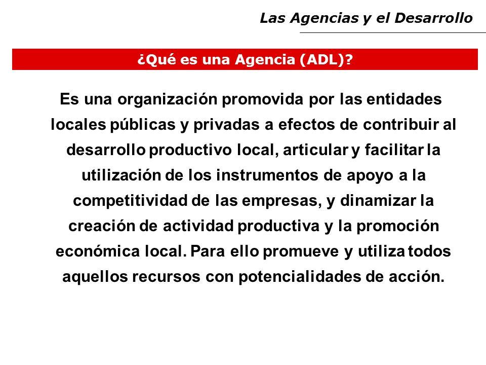 ¿Qué es una Agencia (ADL).