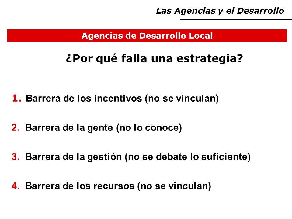 Agencias de Desarrollo Local ¿Por qué falla una estrategia.