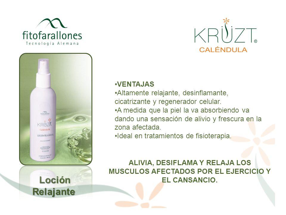 BENEFICIOS Loción en spray relajante y analgésica con efectos de aromaterapia derivados de la Menta Piperita.