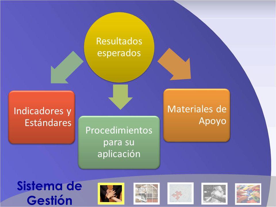 Ámbitos del Sistema 1.La Comunidad Educativa y su Contexto 2.Proyecto Educativo Institucional 3.A-E El Alumno y el Currículo 4.A-E El Educador 5.Ámbito Institucional Sistema de Gestión