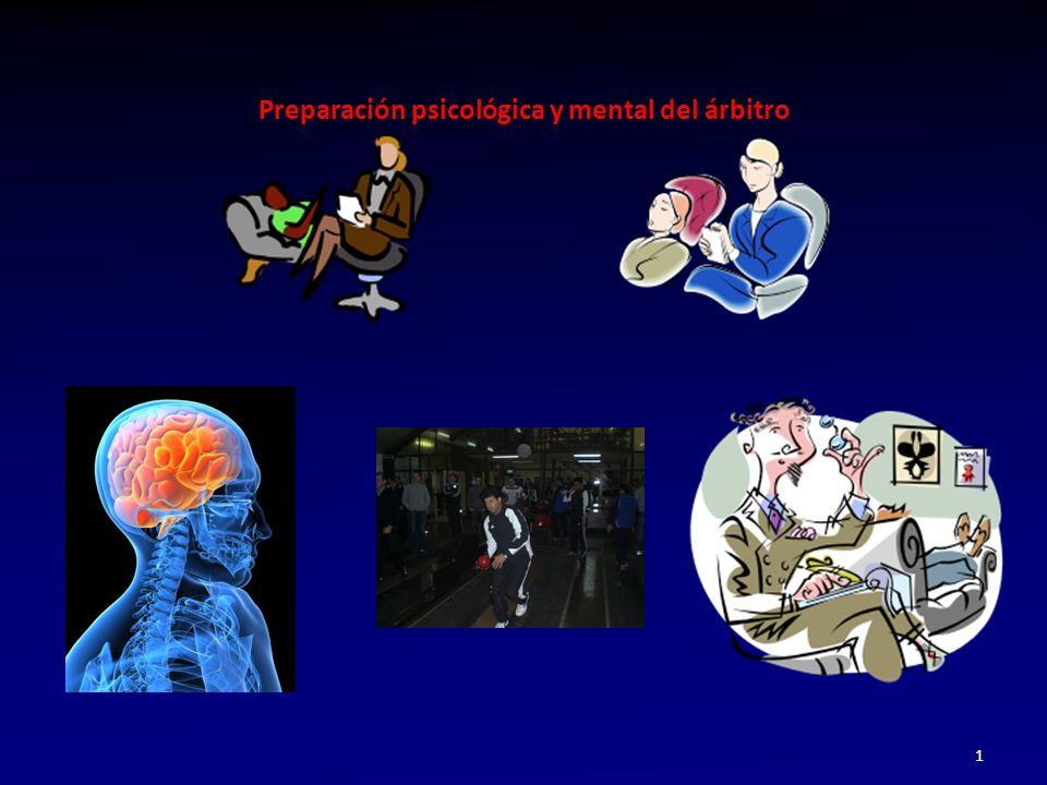 Preparación psicológica y mental del árbitro 1