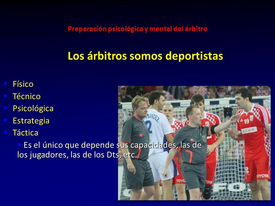Preparación psicológica y mental del árbitro 15 Yo sabía que había dirigido bien cuándo al otro día del partido, los equipos no se acordaban quién los había arbitrado Rubén Gómez