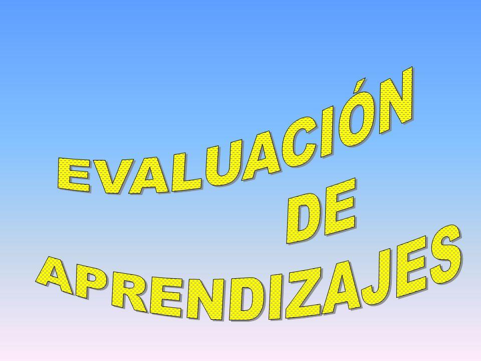Definiendo la evaluación de los aprendizajes.