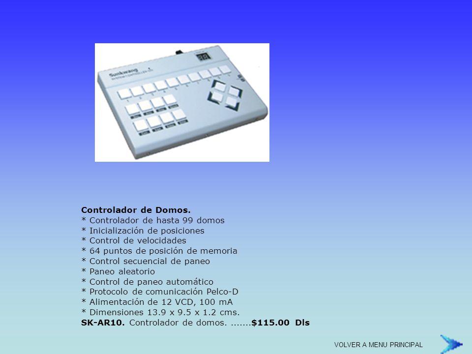 HM29A12.Monitor Blanco y Negro 9. * 800 líneas de resolución.