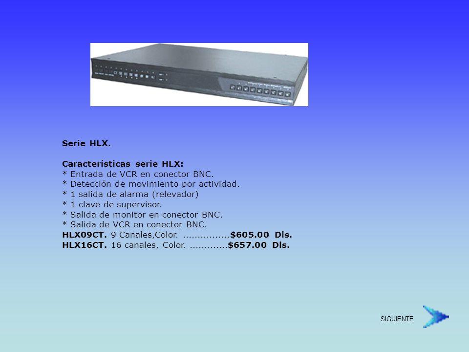 Unidades de Pan-Tilt PREGUNTE POR DISPONIBILIDAD Tip de Conexión Scan Automático para Interiores.