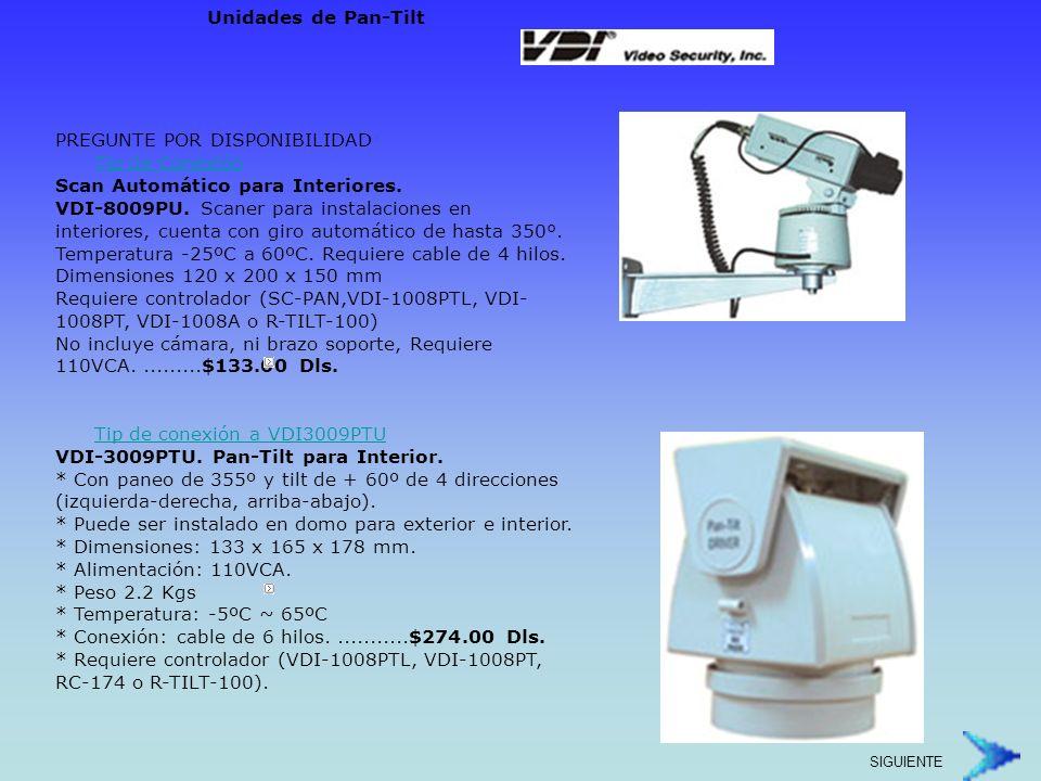PREGUNTE POR DISPONIBILIDAD VDI-1008A.Controlador de Scan.