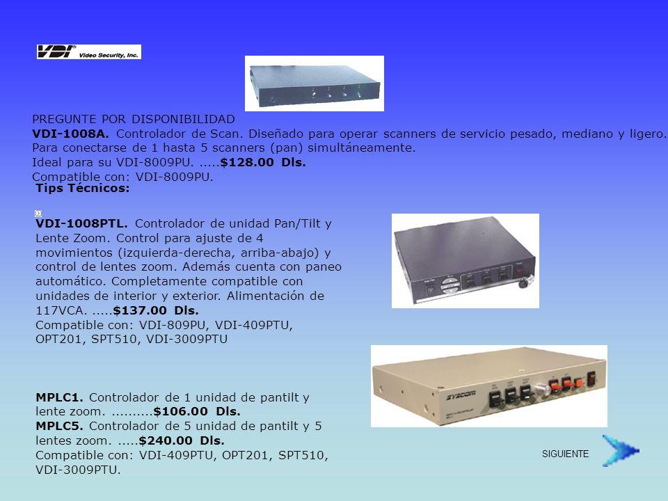 Protectores para Sistemas de Video Protejase contra picos y descargas de alto voltaje !.