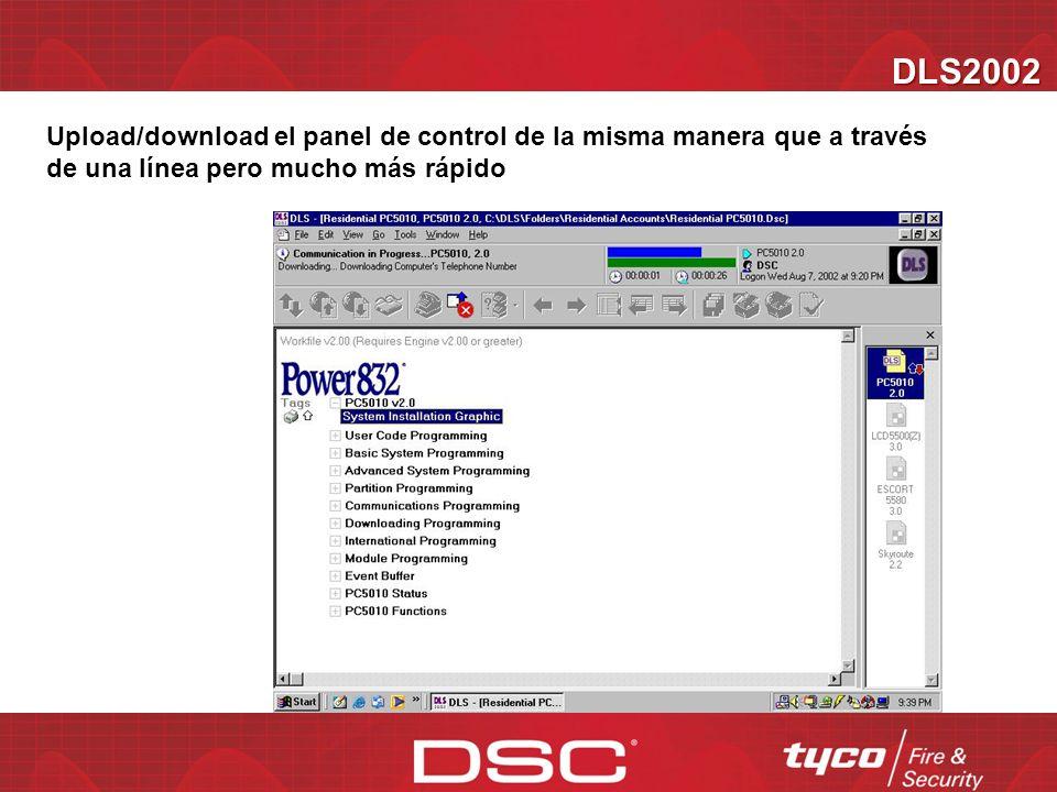 DLS2002 Dirección IP del TL250 Entre la dirección IP del TL250 en la cuenta PC4020 V3.3+ ó Power Series