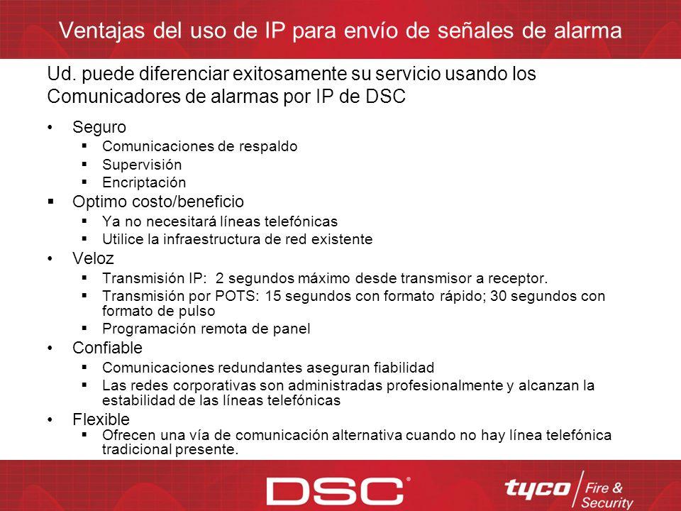 Agenda Familia de comunicadores IP de DSC para Latinoamérica y el Caribe TL-150 (PowerSeries ) TL-250 (PowerSeries y Maxsys) TL-300 (Universal) GS-305