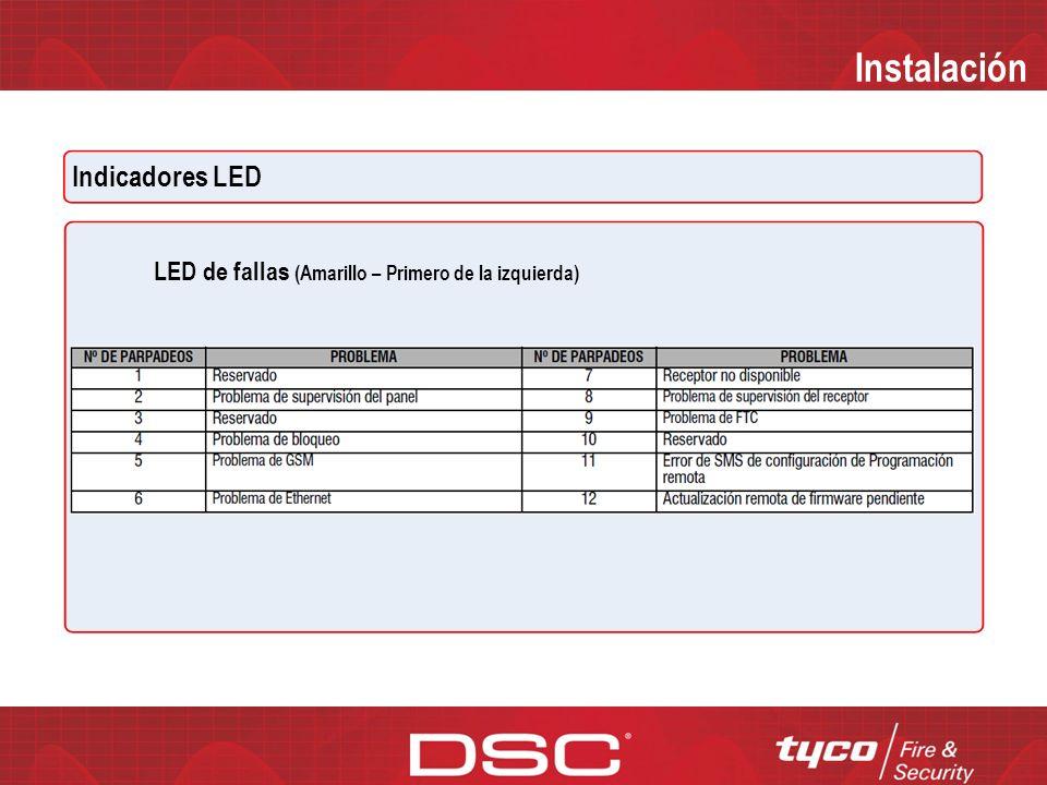 Instalación Instalación GS2060/TL260GS Paso 5 – Pruebe comunicaciones 1.