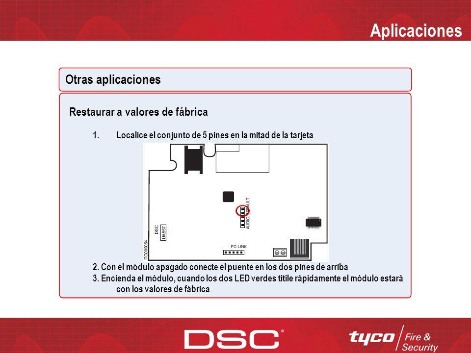 Aplicaciones Otras aplicaciones Ahorro de energía Extiende la duración de la batería cuando hay una pérdida de AC en el Panel de Control Ethernet solo