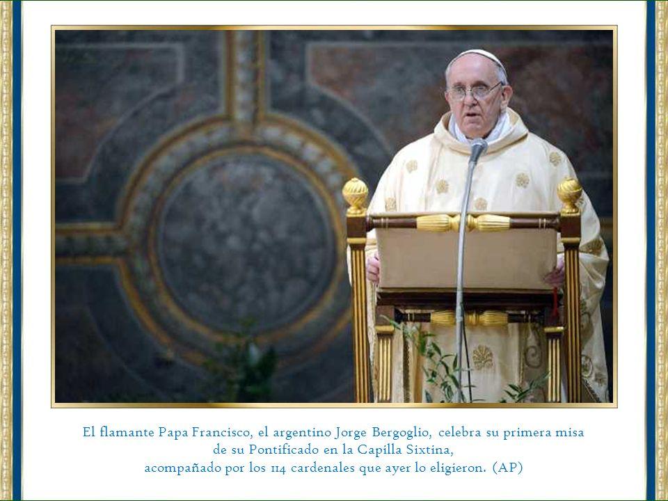 Tras su histórica aparición desde el balcón del Vaticano, el Papa Francisco rechazó ser trasladado a la residencia vaticana de Santa Marta en un auto