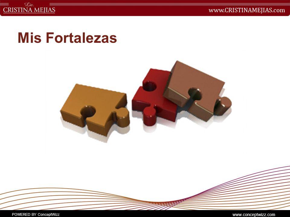 POWERED BY ConceptWizz www.conceptwizz.com Mis Fortalezas