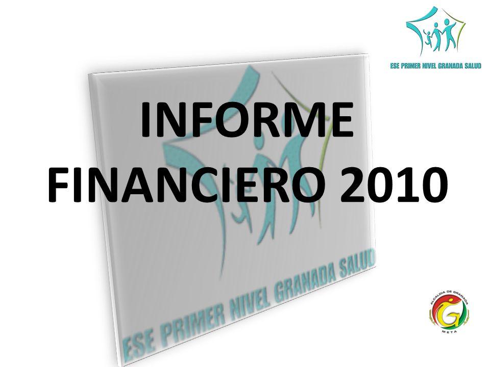 INFORME FINANCIERO 2010