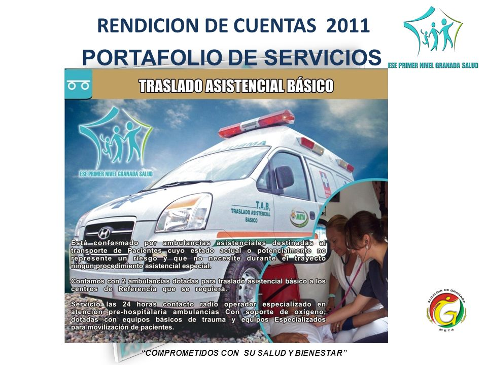 RENDICION DE CUENTAS 2011 COMPROMETIDOS CON SU SALUD Y BIENESTAR CONSTRUCCION AREA ESTERILIZACION