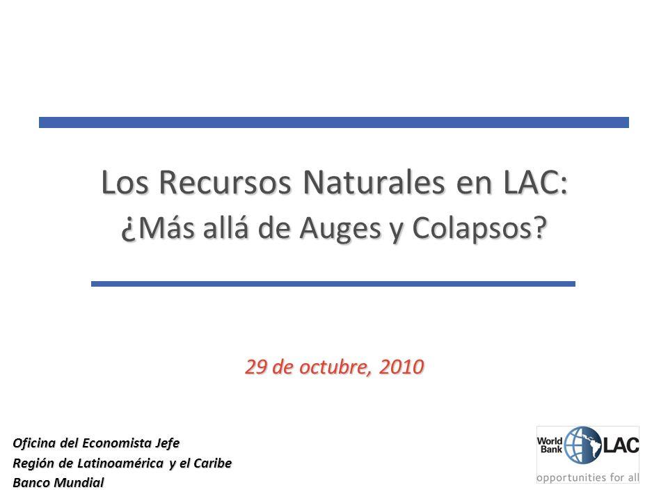 11 Los Recursos Naturales en LAC: ¿ Más allá de Auges y Colapsos.