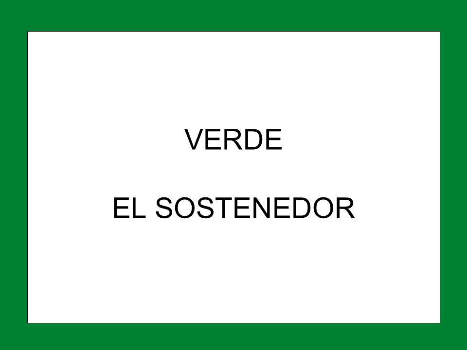 VERDE EL SOSTENEDOR