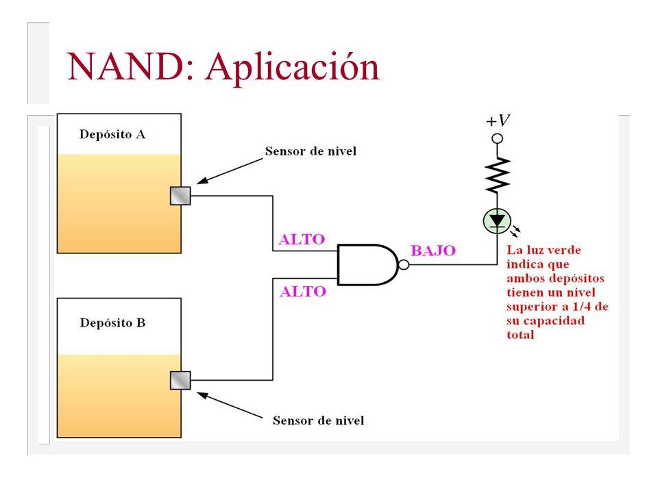 NAND: Aplicación